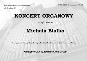 Koncert Michał Białko
